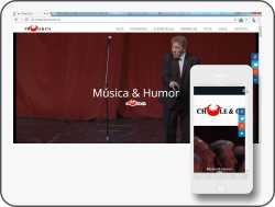 Sitio web oficial del comendiante Chule y Cia