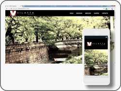 Página web Vilatta abogados