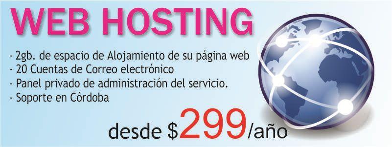 Alojamiento web, Web Hosting, Argentina